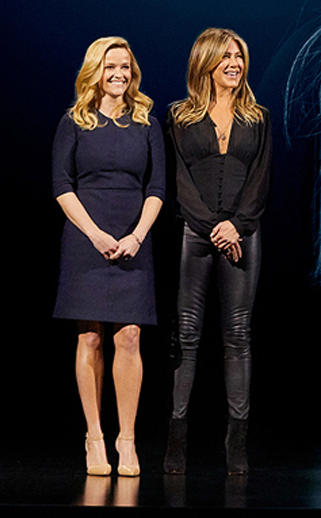 Reese Witherspoon, Jennifer Aniston, Apple Keynote Event