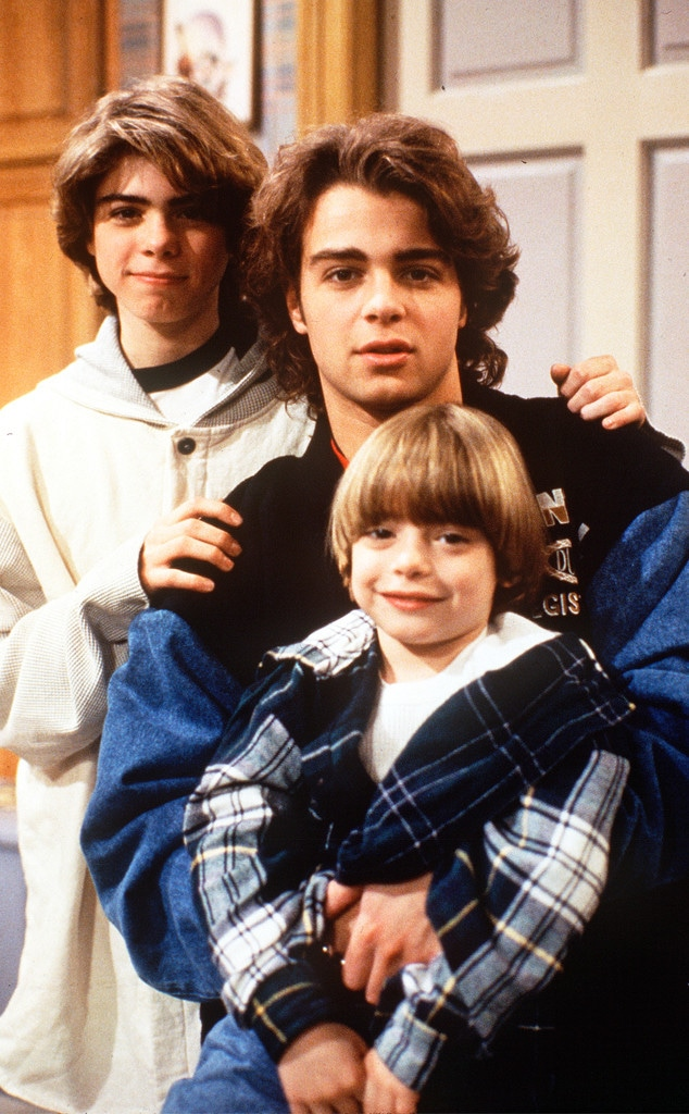 Joey Lawrence, Matthew Lawrence, Andrew Lawrence, Blossom, 1994