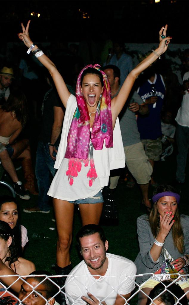 Alessandra Ambrosio, Coachella 2009