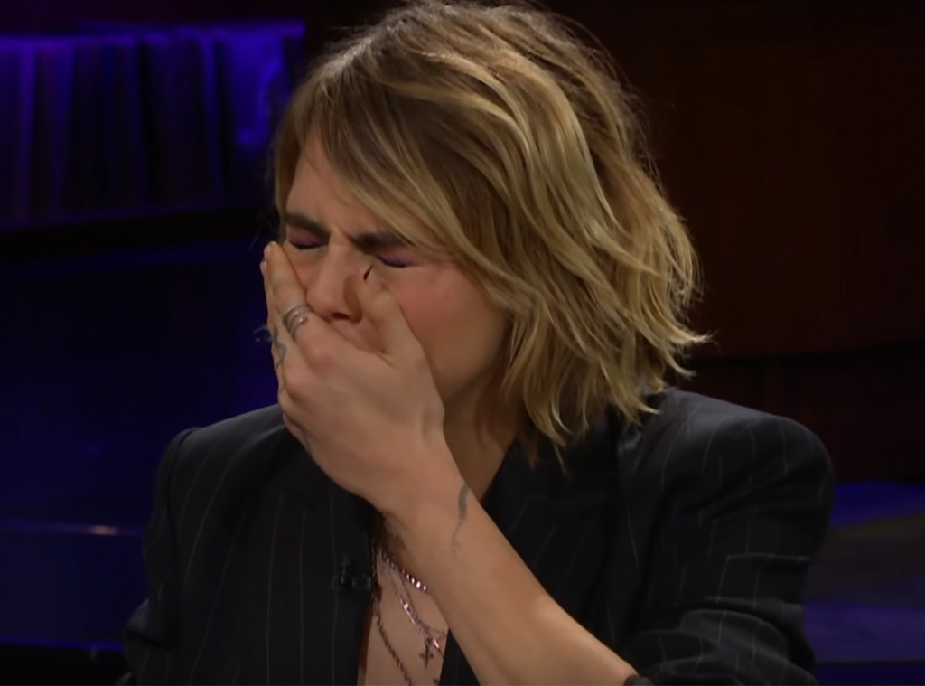 Cara Delevingne Downs Beetle Jello Shot to Avoid Naming the Biggest Celebrity to Hit on Her