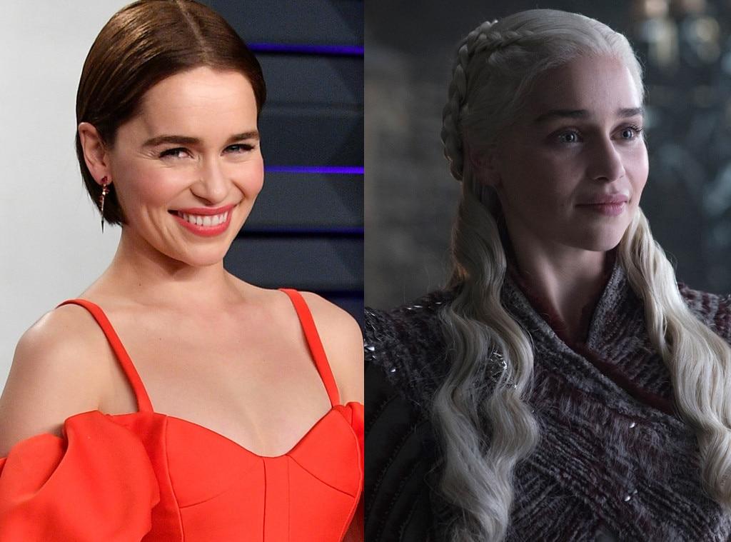Emilia Clarke As Daenerys Targaryen From Game Of Thrones