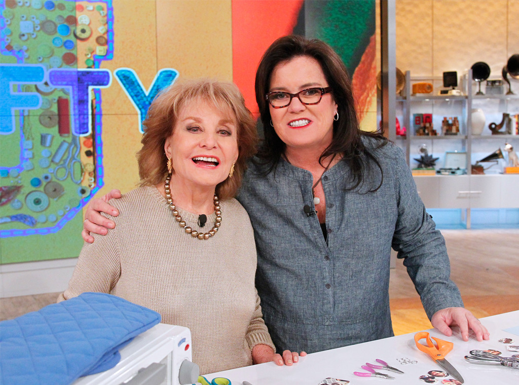 Barbara Walters, Rosie O'Donnell, The View