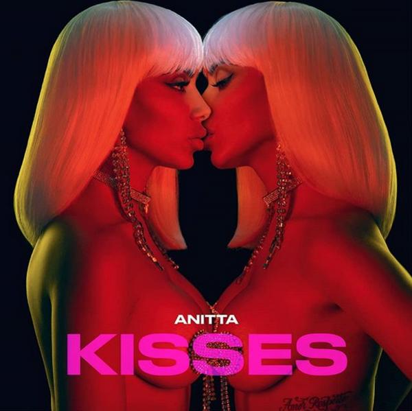 Anitta, Kisses, Instagram