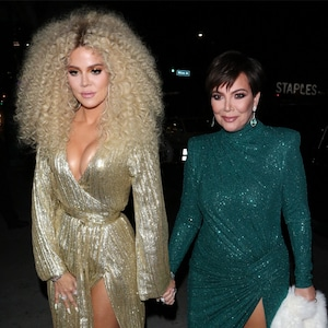 Kris Jenner, Khloe Kardashian, Diana Ross's 75th Birthday Party