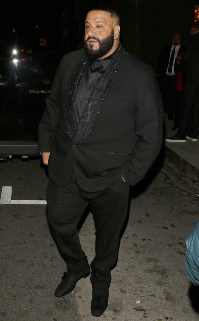 DJ Khaled -  The rapper was dressed to impress in a stylish suit.