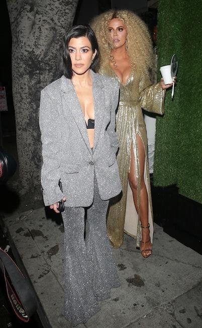 Kourtney Kardashian, Khloe Kardashian, Diana Ross' 75th Birthday Party