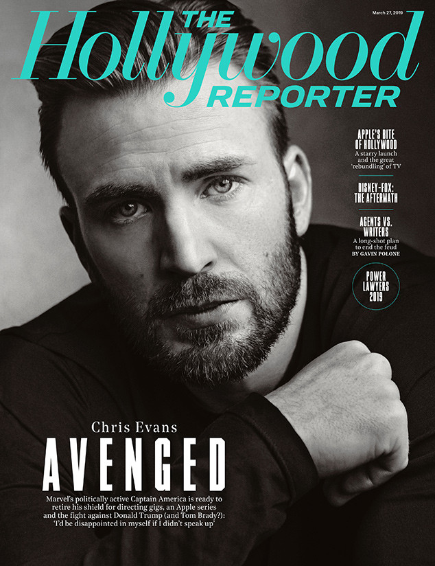 Chris Evans, The Hollywood Reporter, March 27, 2019