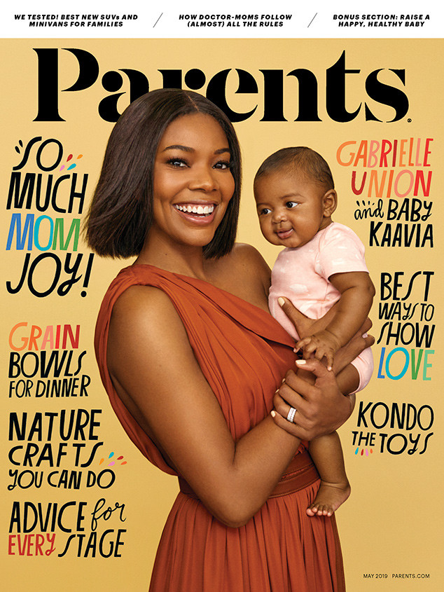 Gabrielle Union, Kaavia James Union Wade, Parents