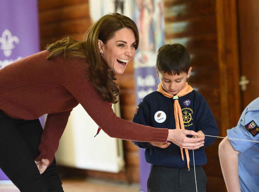 Kate Middleton, Scouts' Headquarters Visit