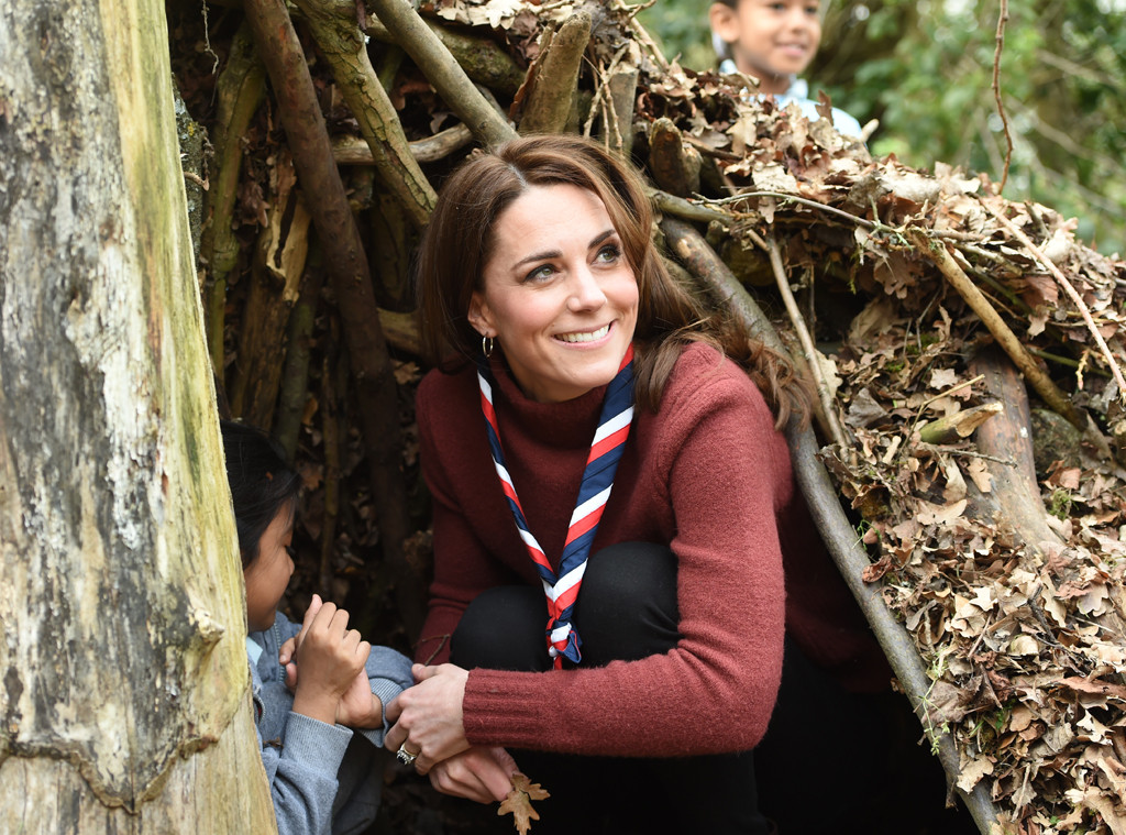 Kate Middleton, Scouts' Headquarters Visit