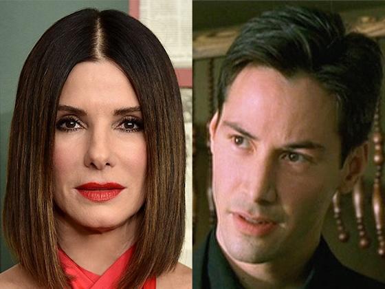 ¡Keanu Reeves confesó que también estaba enamorado de Sandra Bullock!