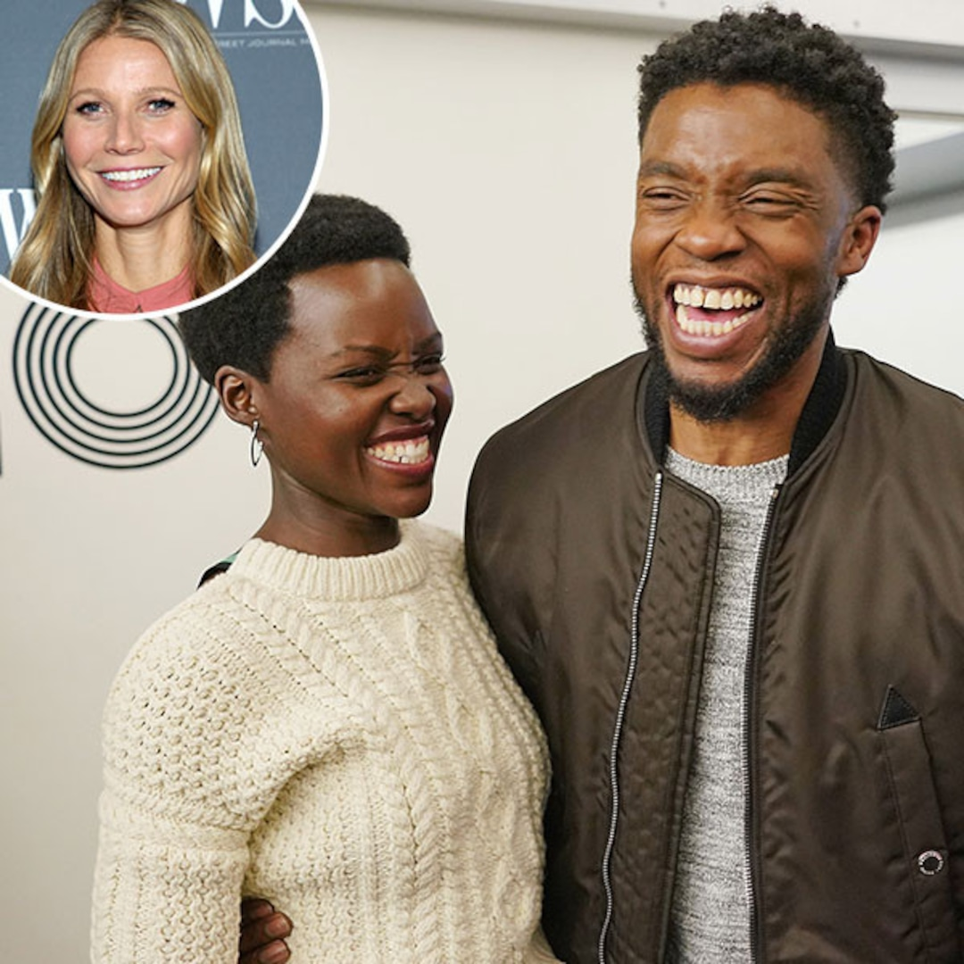 Gwyneth Paltrow Lupita Nyong O Agree Chadwick Boseman Is So Hot E Online