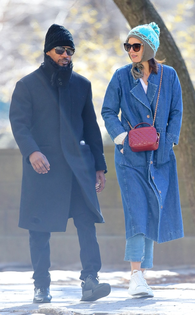 Romantic Stroll -  The two appear together in New York City in March 2019.