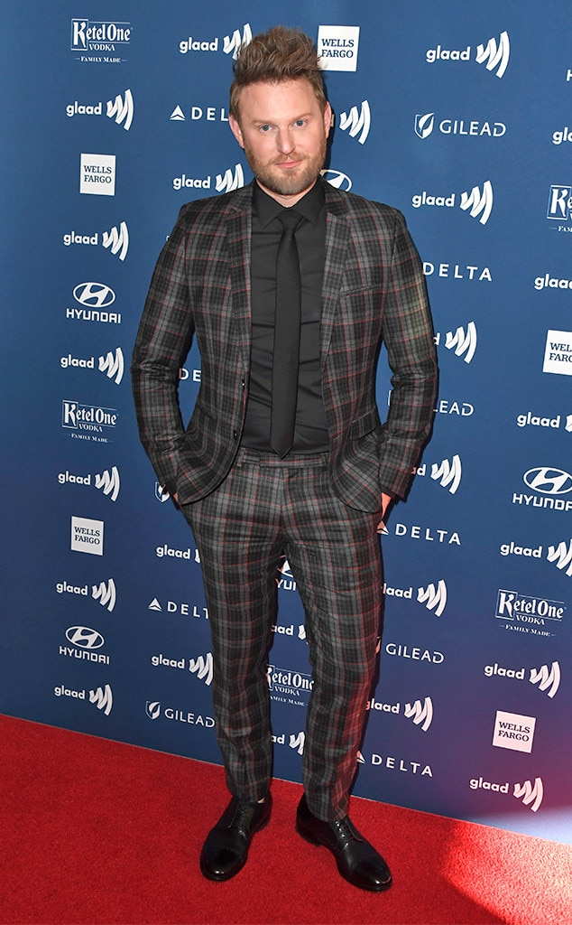 Bobby Berk -  The  Queer Eye  star and interior designer is oh-so stylish in a plaid suit.