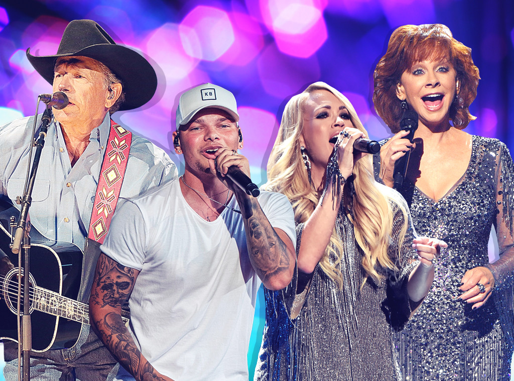 Reba McEntire, George Strait, Carrie Underwood, Kane Brown