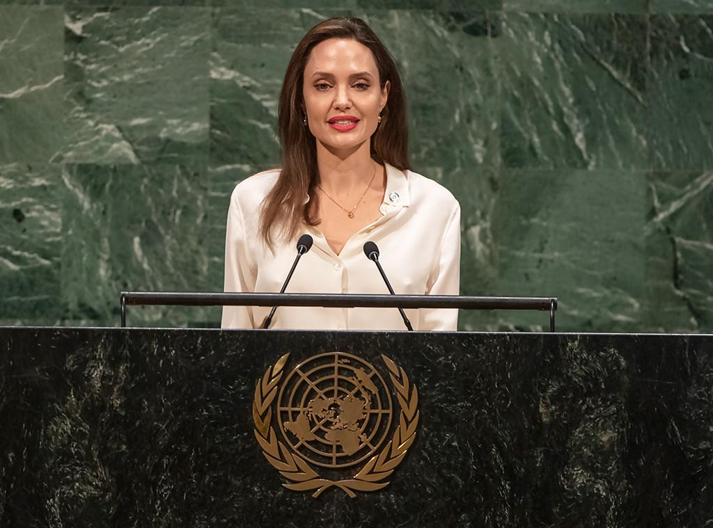 Angelina Jolie, UN
