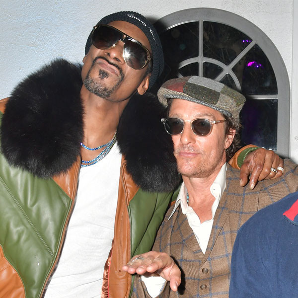 Snoop Dogg, Matthew McConaughey, The Beach Bum After Party
