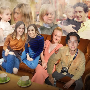 Friends Kids, Cali Sheldon, Noelle Sheldon, Dakota Fanning, Cole Sprouse