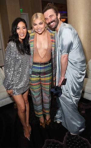Michelle Kwan, Hayley Kiyoko, Jonathan Van Ness, Candids, 2019 GLAAD Media Awards