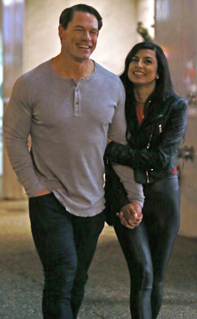 نتيجة بحث الصور عن John Cena and Shay Shariatzadeh