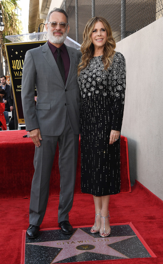 Rita Wilson, Tom Hanks, Hollywood Walk of Fame