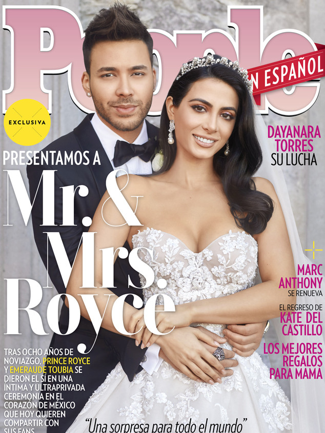 Prince Royce Wedding, People Magazine En Español