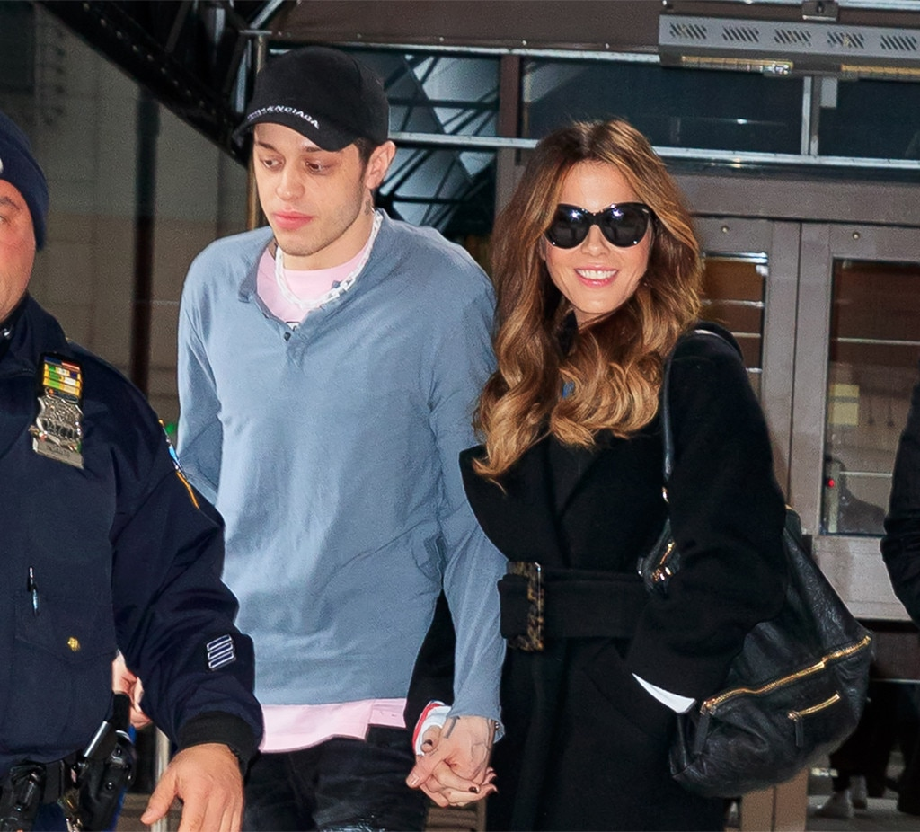 Kate Beckinsale and Pete Davidson in public display of affection