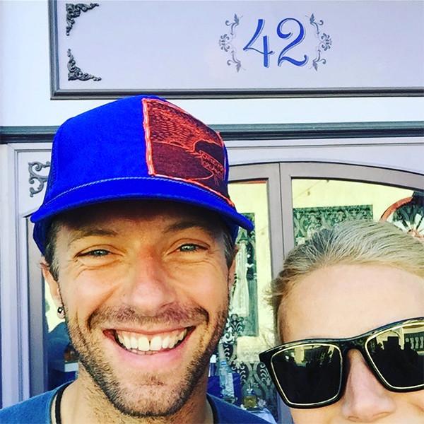 Gwyneth Paltrow, Chris Martin, Birthday, Instagram