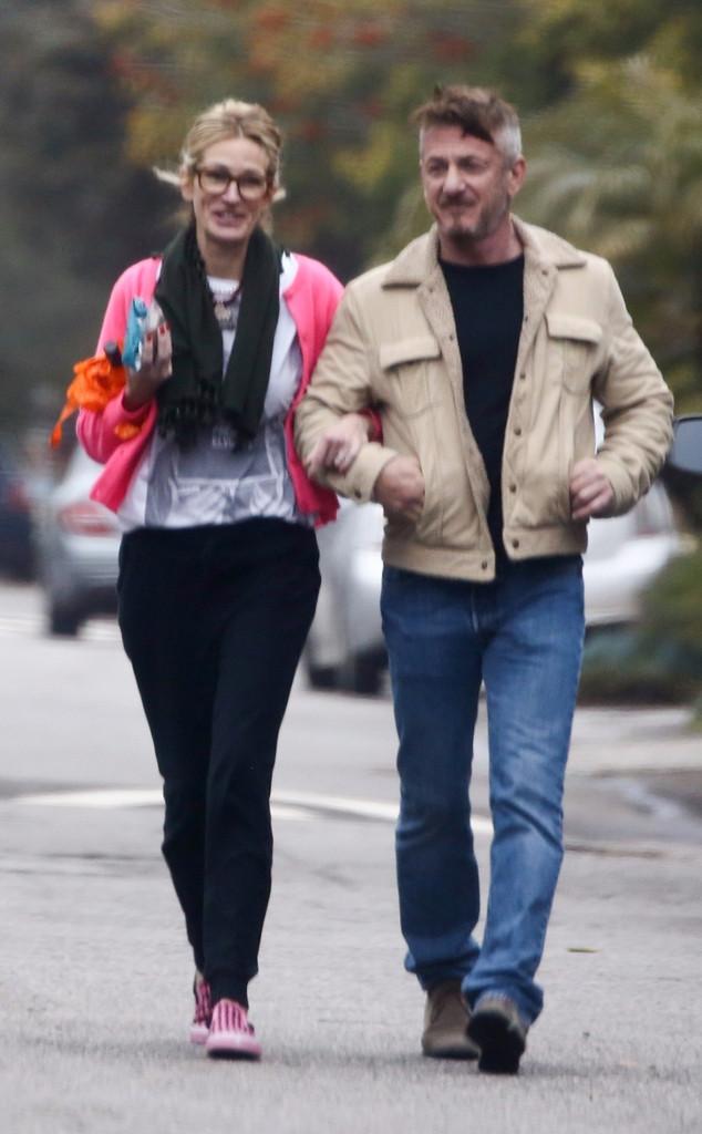 Julia Roberts, Sean Penn, Chris Martin's Birthday Party