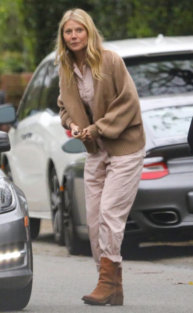 Gwyneth Paltrow, Chris Martin's Birthday Party
