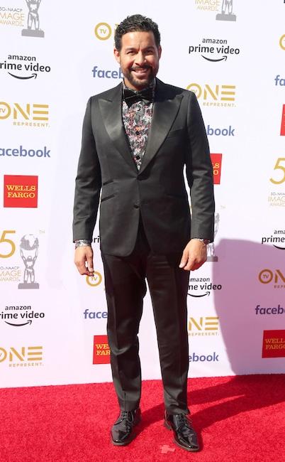 Jon Huertas, 50th NAACP Image Awards, NAACP awards, arrivals