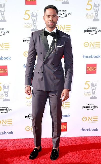 Jay Ellis, 50th NAACP Image Awards, NAACP awards, arrivals
