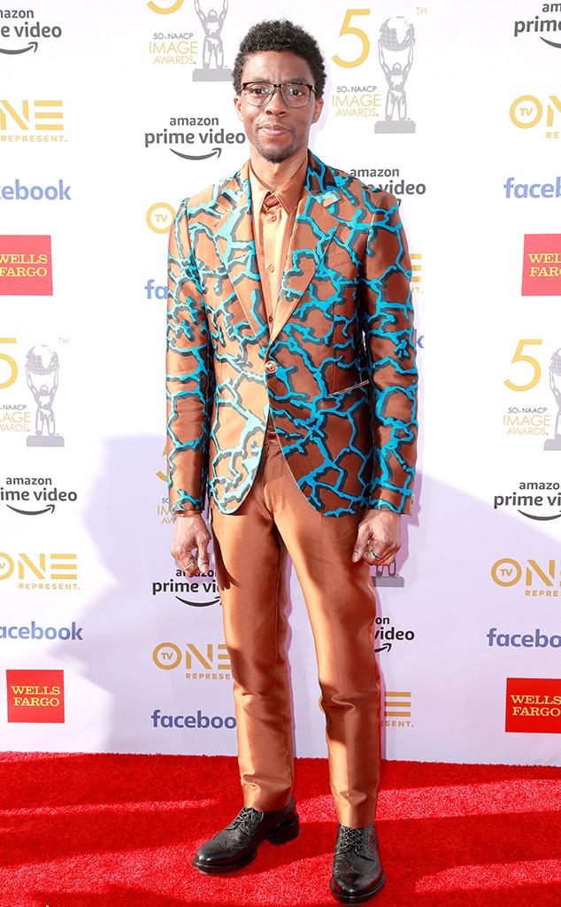 Chadwick Boseman, 50th NAACP Image Awards, NAACP awards, arrivals