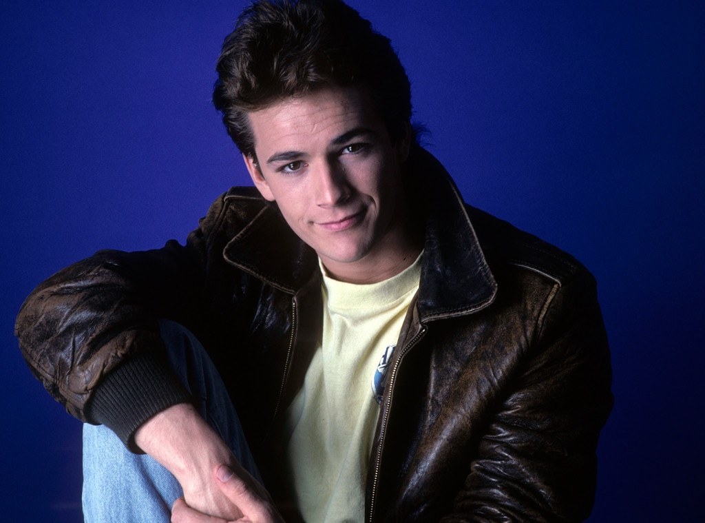 Luke Perry, Life in Pictures
