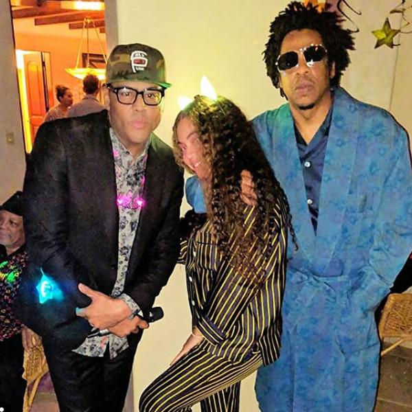 Beyonce, Jay-Z, Al B. Sure!