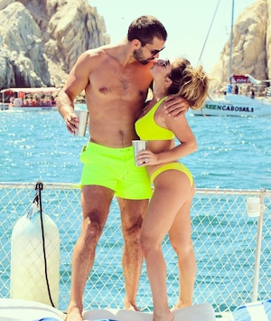 Jessie James, Eric Decker, Cabo Vacation Gallery
