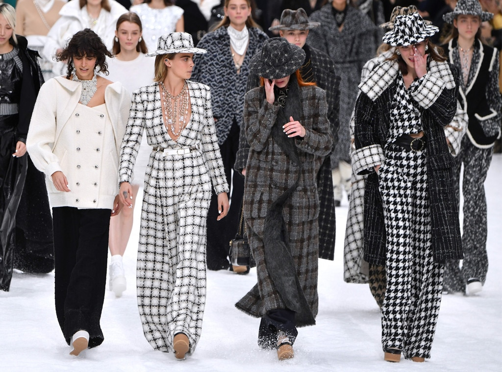 Cara Delevingne, Models, Chanel, Paris Fashion Week
