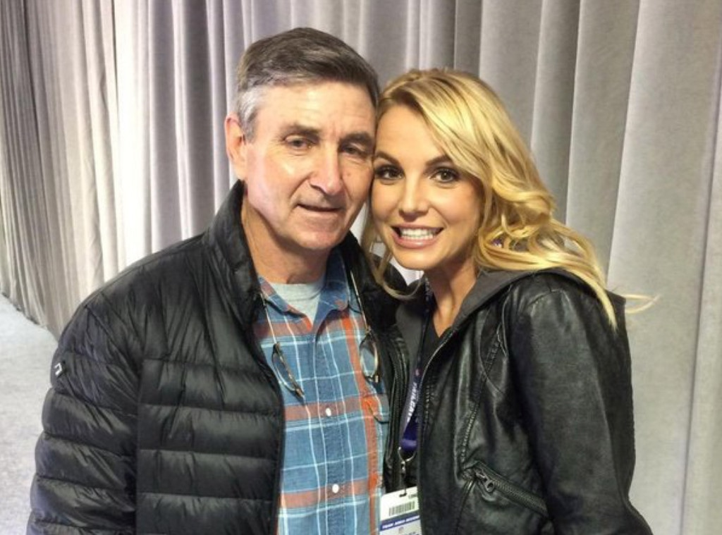 Britney Spears, Jamie Spears, Instagram