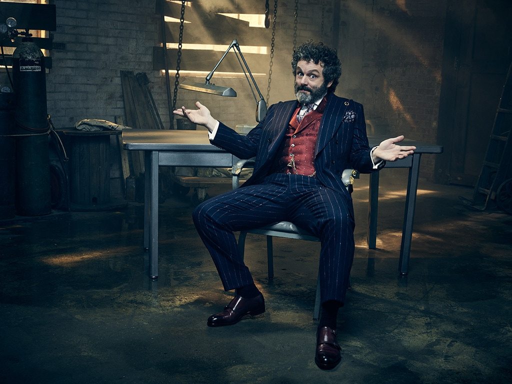 Roland Blum -  Michael Sheen is a new addition for the third season. He'll interact quite a bit with Rose Leslie's character, but Sheen had previous ties to Christine Baranski—when he was dating Sarah Silverman she told the world he named his private parts after Baranski.