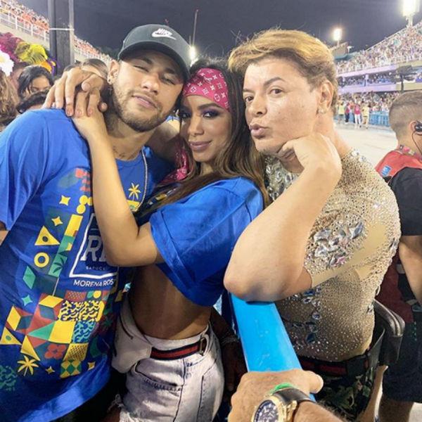 Anitta, Neymar, David Brazil