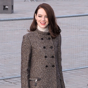 Emma Stone, Louis Vuitton Show, Paris Fashion Week 2019