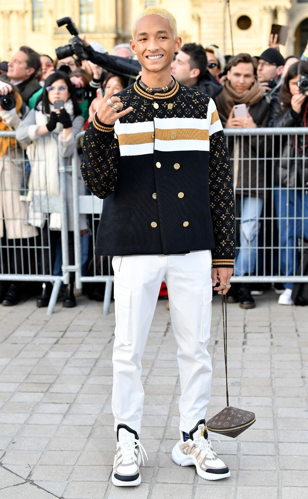 Jaden Smith -  Attended the Louis Vuitton show on March 5, 2019.