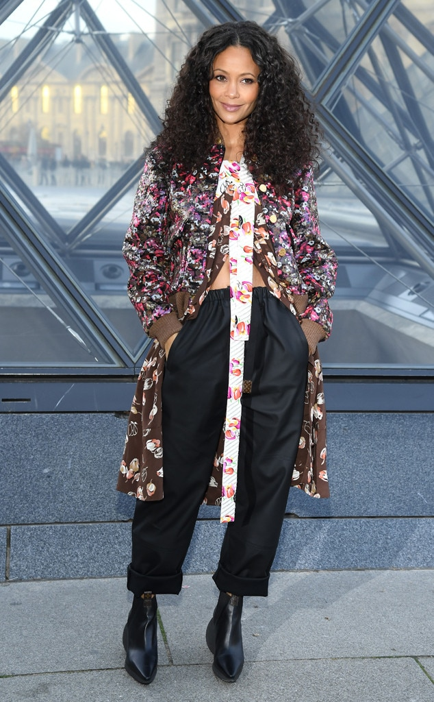 Thandie Newton -  Attended the Louis Vuitton show on March 5, 2019.