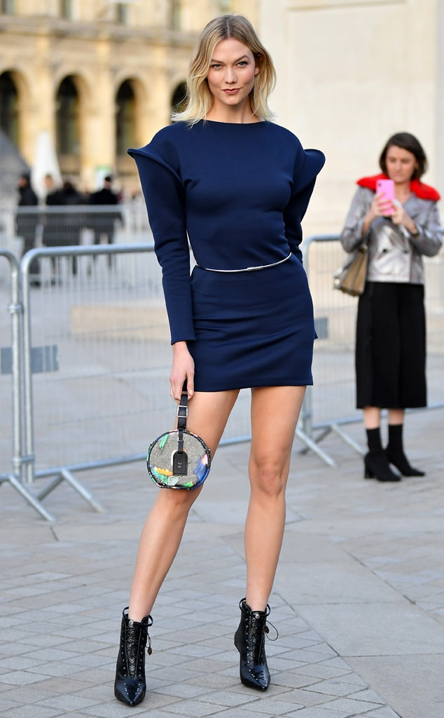 Karlie Kloss -  Attended the Louis Vuitton show on March 5, 2019.