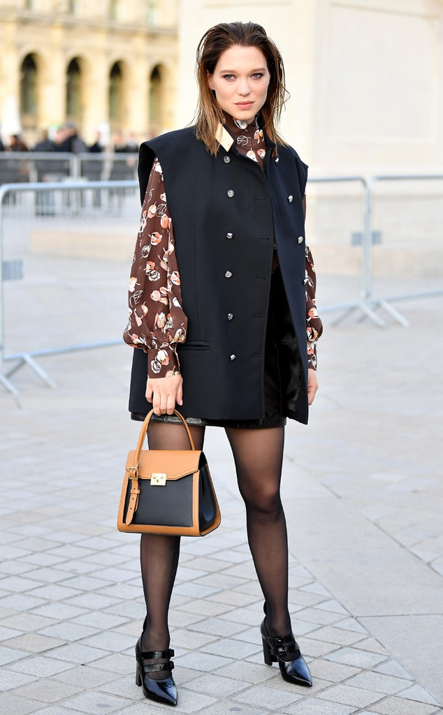 Lea Seydoux -  Attended the Louis Vuitton show on March 5, 2019.