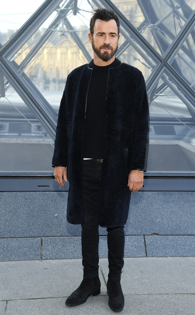 Justin Theroux -  Attended the Louis Vuitton show on March 5, 2019.