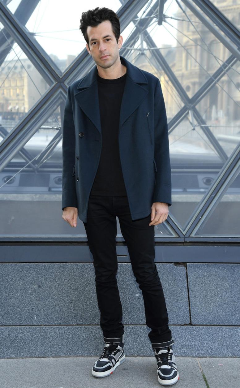 Mark Ronson, Louis Vuitton, Paris Fashion Week