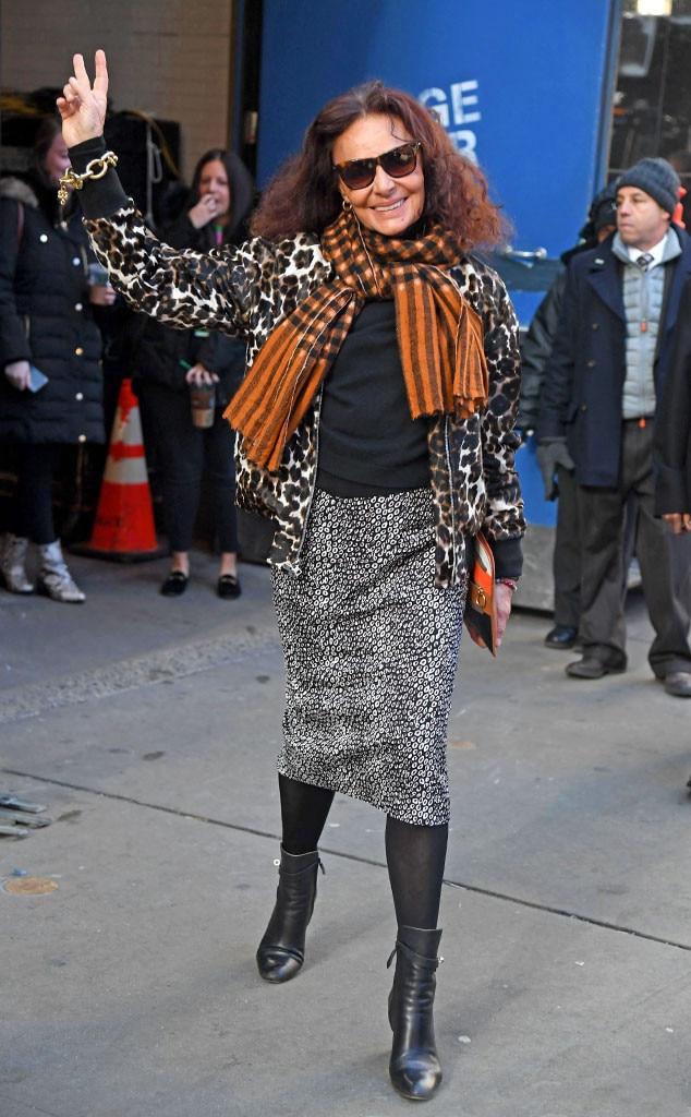 Diane Von Furstenberg -  Peace out!