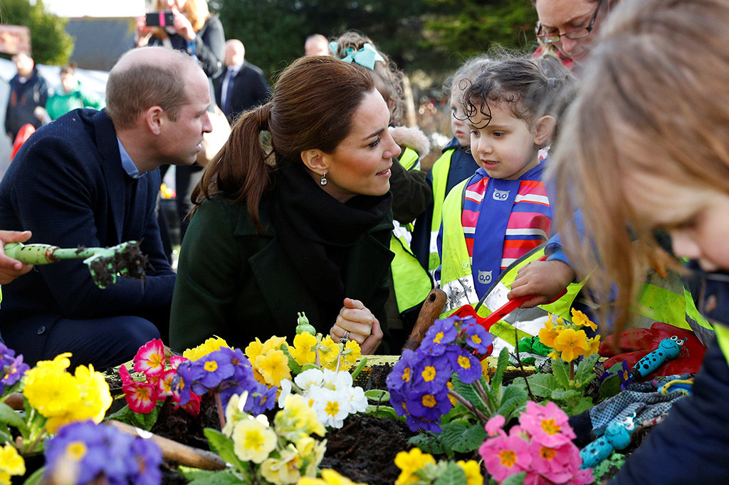 Prince William, Kate Middleton, Blackpool Visit