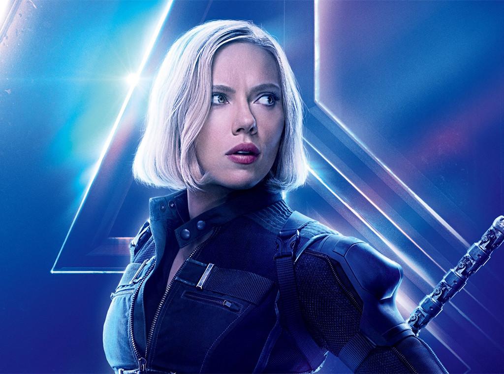 Scarlett Johansson, Black Widow, Avengers: Infinity War